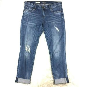 Kut from the Kloth Distressed Boyfriend Jeans